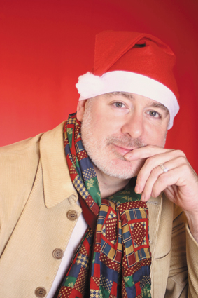 Guy Masterson in A Child's Christmas In Wales  (Credit: Brigitta Scholz-Mastroianni)