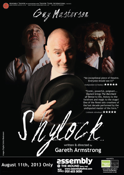 Shylock with Guy Masterson